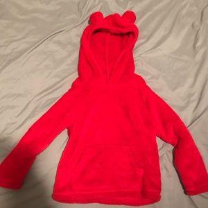 Carters 4T hooded fleece sweatshirt